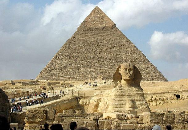 Grande esfinge do Egipto