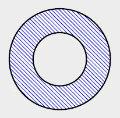 Seção Transversal Circular Vazada