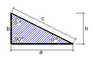 Área de um Triângulo Retângulo