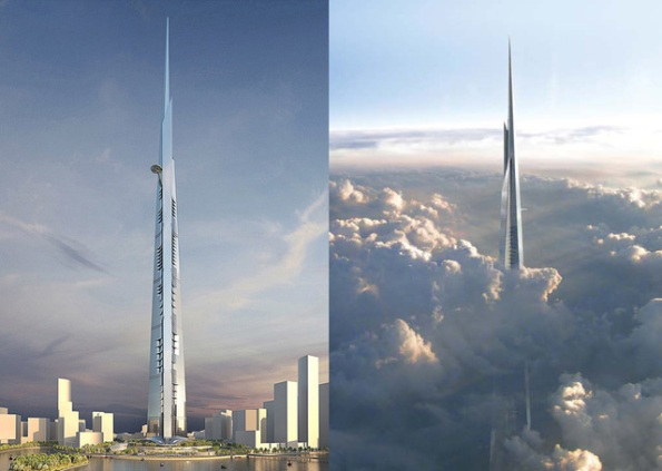 Kingdom Tower o futuro edificio mais alto do mundo